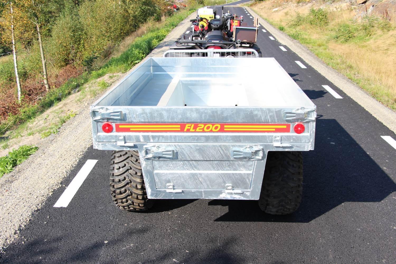 FL200 Försänkt insatsflak