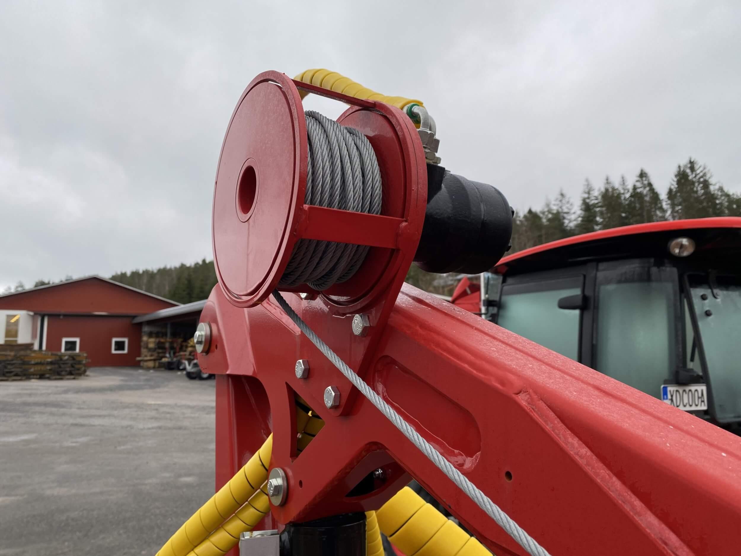 Fjärrstyrd hydraulvinsch HV600